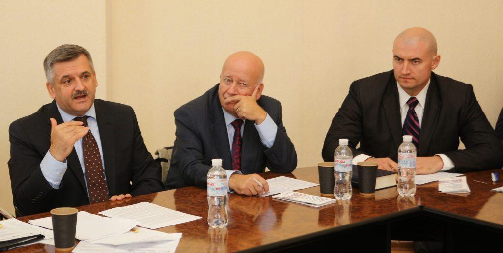Petro Patsurkivskyy participating at the III Kharkiv International Law Forum