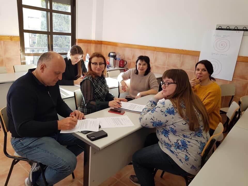 Ruslana Havrylyuk training in Murcia