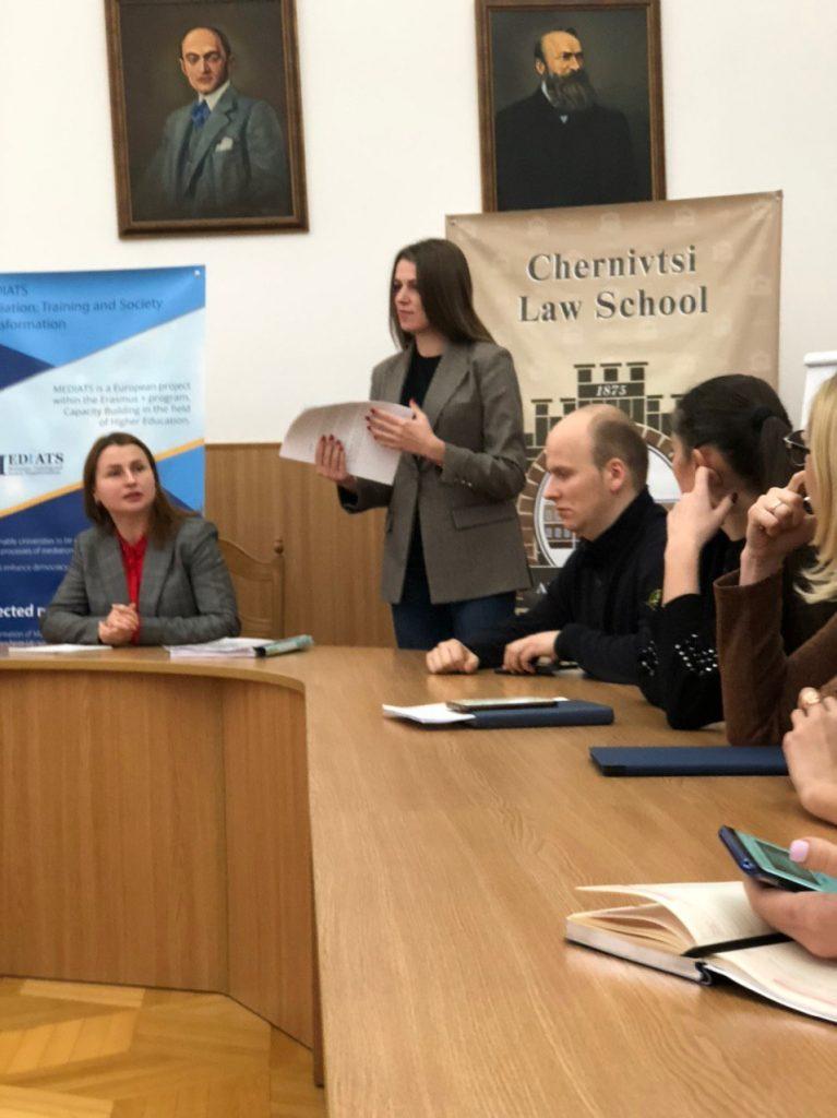 Maryna Fedorchuk master class MEDIATION