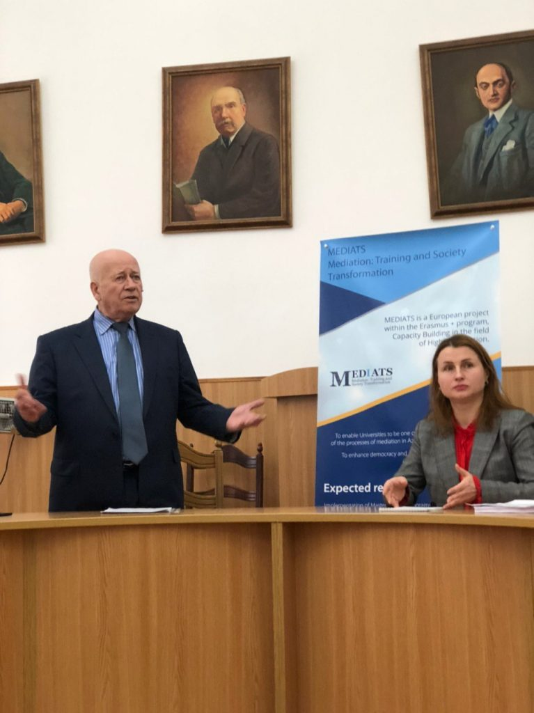 Petro Patsurkivskyy MEDIATS Project Workshop