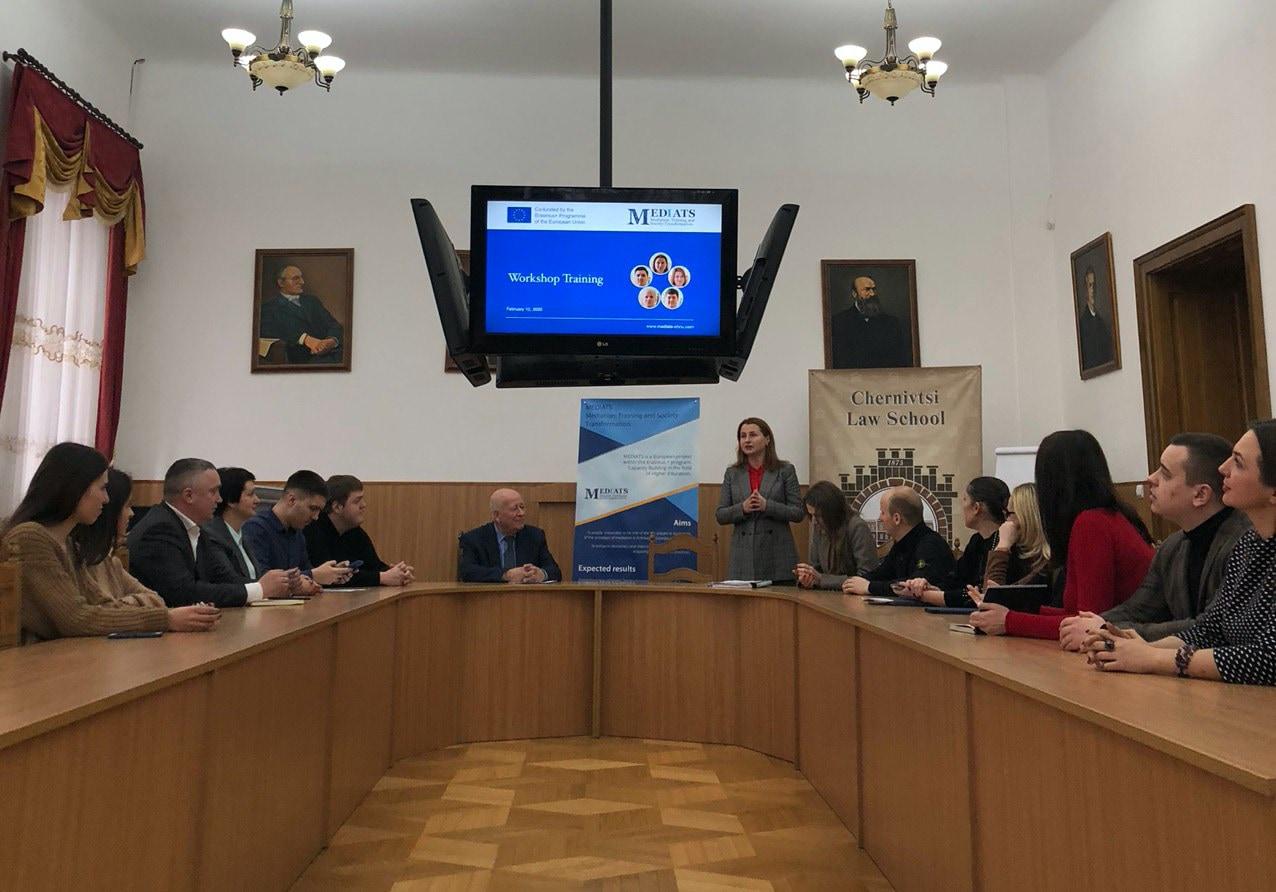 Ruslana Havrylyuk MEDIATS Workshop training